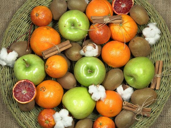 سبد میوه ساده