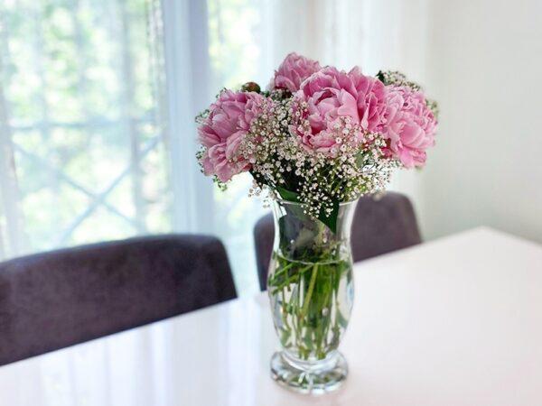 گلدان پیونی