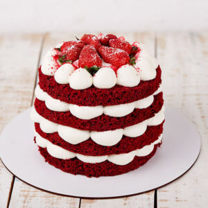 sable strawberry cake