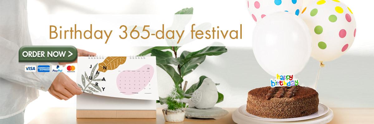 365 day birthday campain