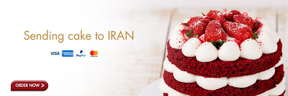 sending cake to iran