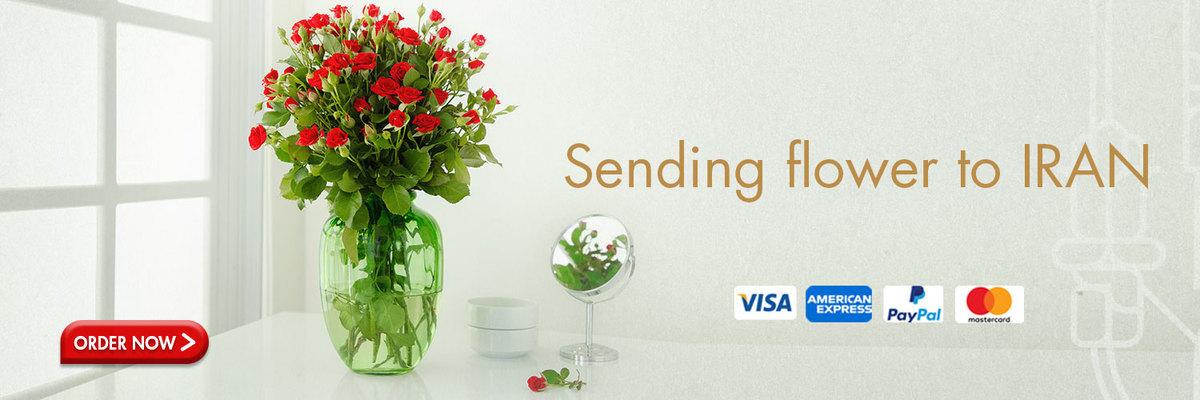 sending flower to iran